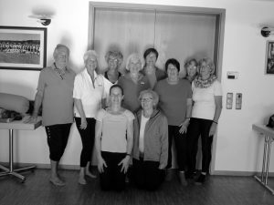 Gruppenbild Yoga am Vormittag